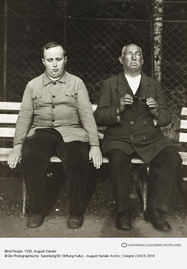 August Sander, Blind People, c.1930 (about 1930)