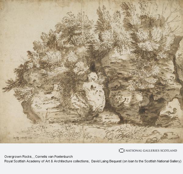 Cornelis van Poelenburch, Overgrown Rocks