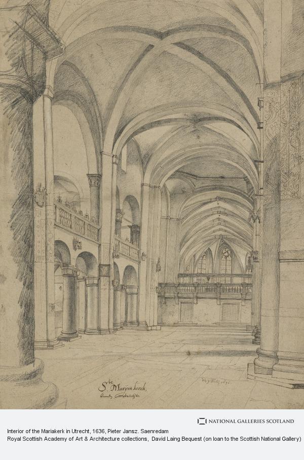 Pieter Jansz. Saenredam, Interior of the Mariakerk in Utrecht