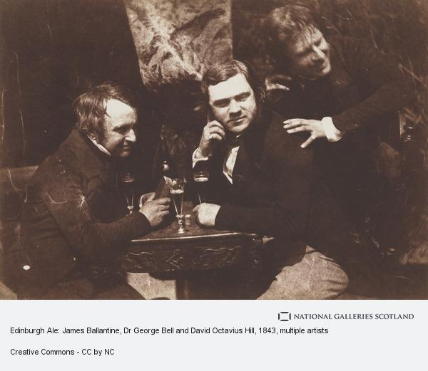 David Octavius Hill, Edinburgh Ale: James Ballantine, Dr George Bell and David Octavius Hill