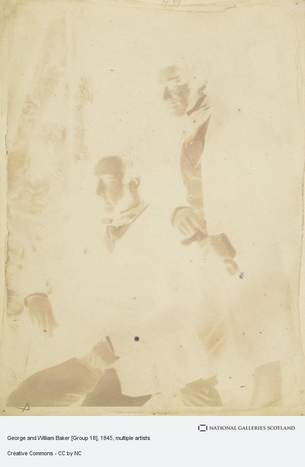 David Octavius Hill, George and William Baker [Group 18]