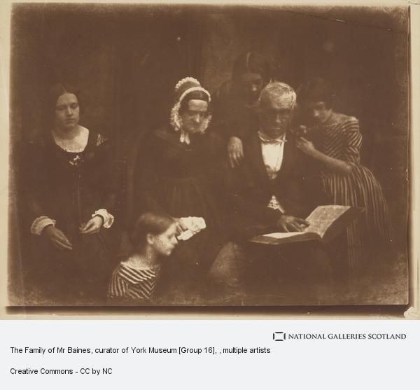 David Octavius Hill, The Family of Mr Baines, curator of York Museum [Group 16]