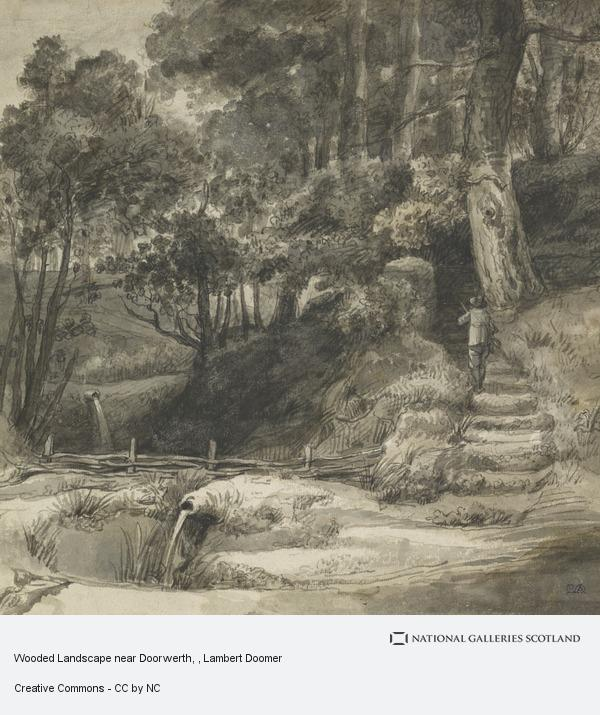 Lambert Doomer, Wooded Landscape near Doorwerth