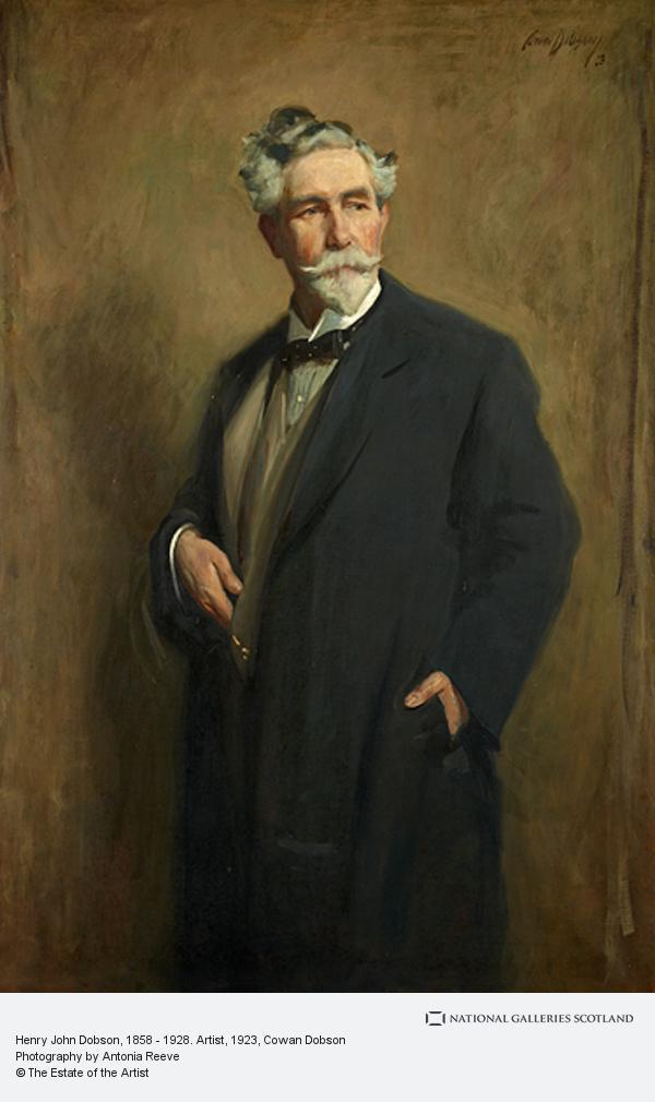 Cowan Dobson, Henry John Dobson, 1858 - 1928. Artist