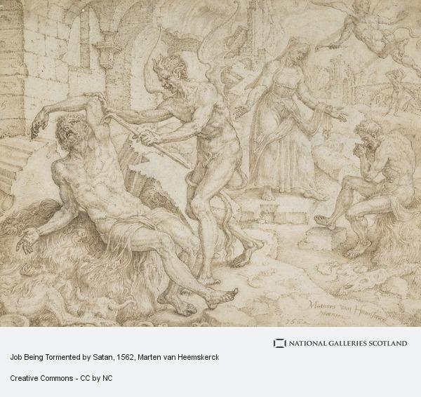 Marten van Heemskerck, Job Being Tormented by Satan