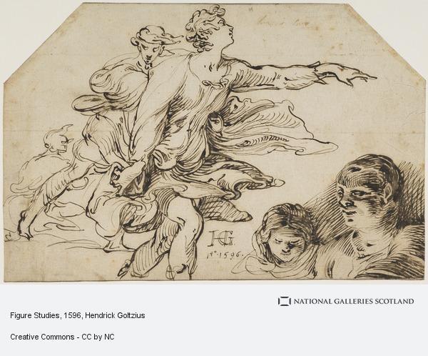 Hendrick Goltzius, Figure Studies