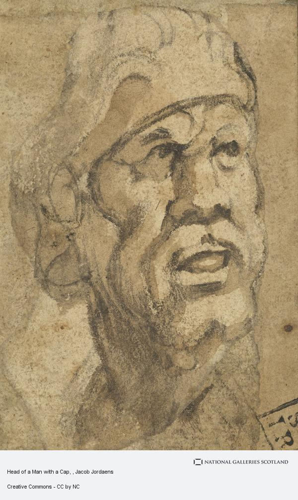 Jacob Jordaens, Head of a Man with a Cap