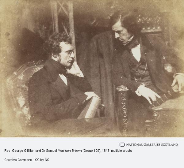 David Octavius Hill, Rev. George Gilfillan and Dr Samuel Morrison Brown [Group 109]