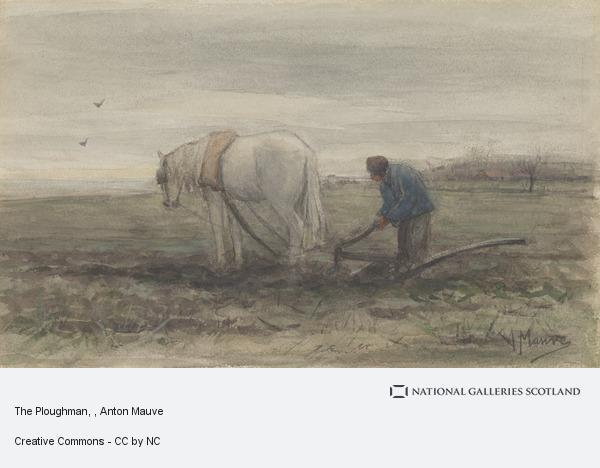 Anton Mauve, The Ploughman
