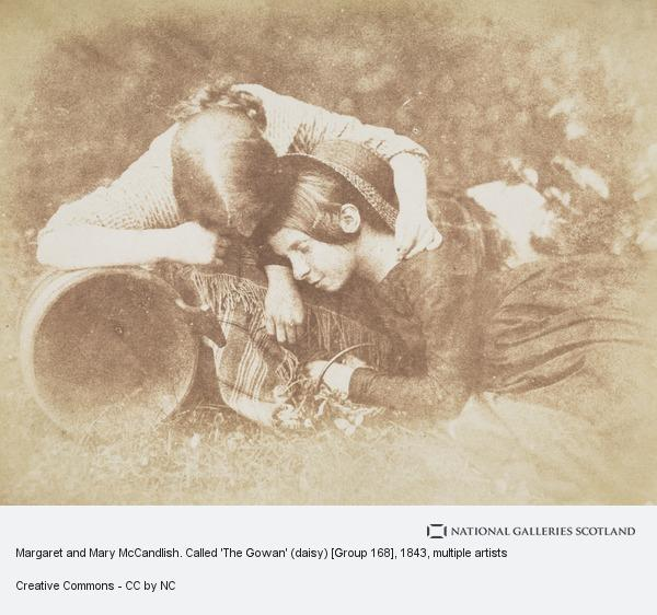 David Octavius Hill, Margaret and Mary McCandlish. Called 'The Gowan' (daisy) [Group 168]
