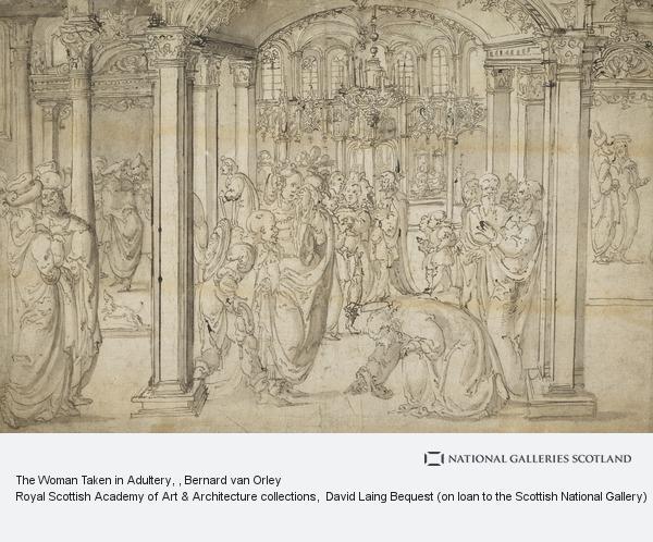 Bernard van Orley, The Woman Taken in Adultery