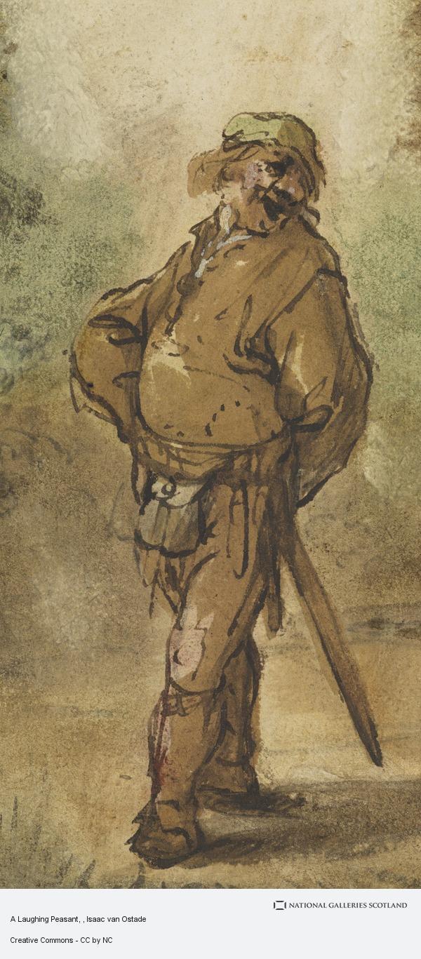 Isaac van Ostade, A Laughing Peasant