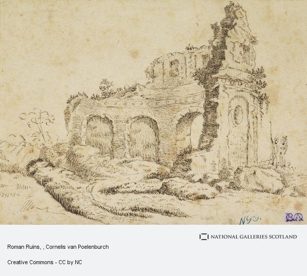Cornelis van Poelenburgh, Roman Ruins