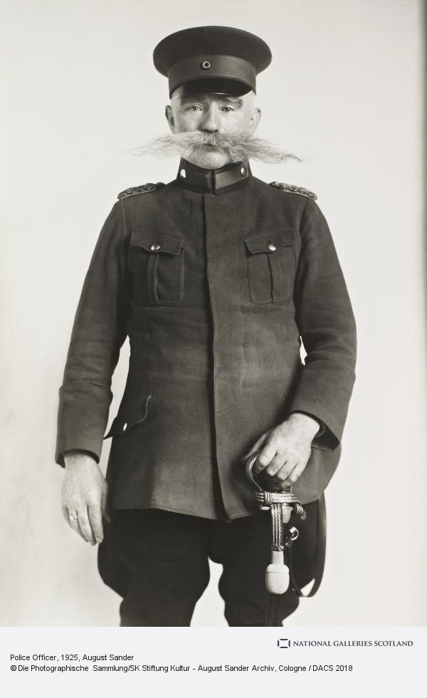 August Sander, Police Officer and Master of the Watch, 1925 (1925)