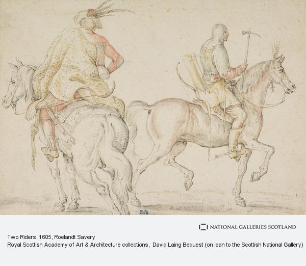 Roelandt Savery, Two Riders