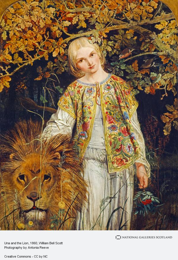 William Bell Scott, Una and the Lion