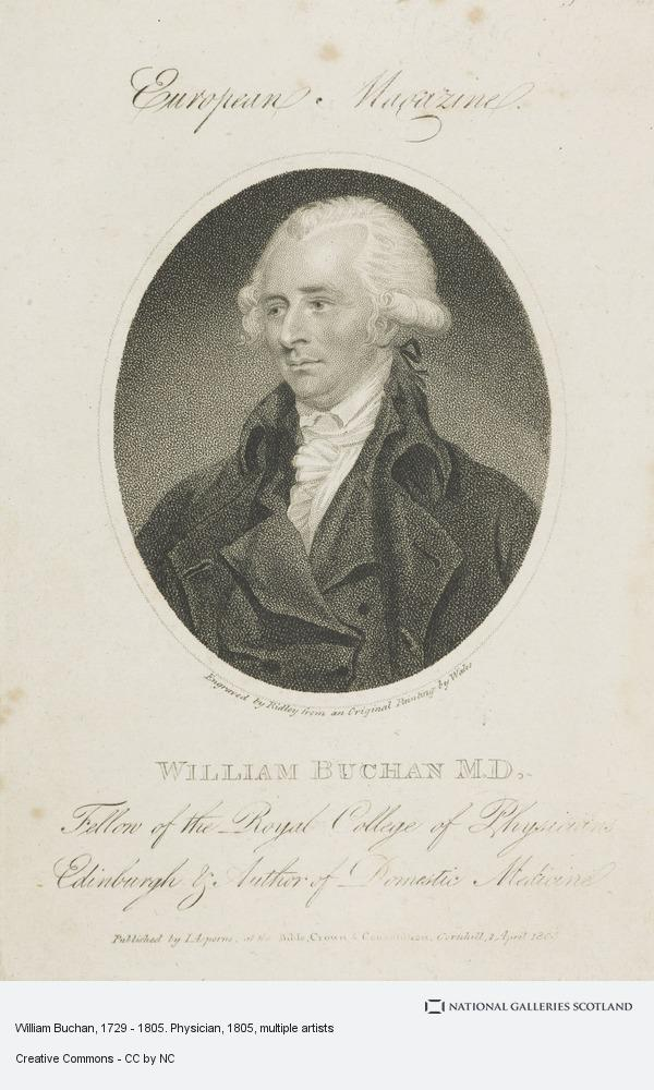 James Wales, William Buchan, 1729 - 1805. Physician