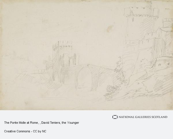 David Teniers, The Ponte Molle at Rome