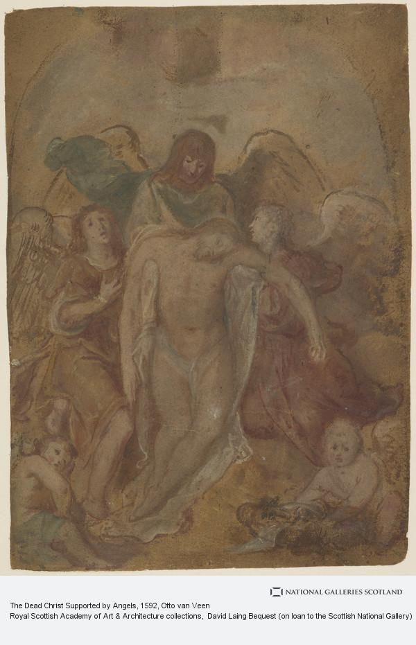 Otto van Veen, The Dead Christ Supported by Angels
