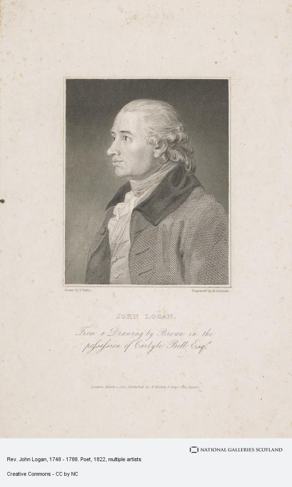 John Brown, Rev. John Logan, 1748 - 1788. Poet