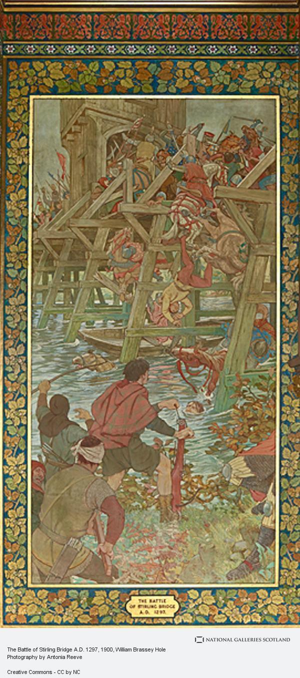 William Brassey Hole, The Battle of Stirling Bridge A.D. 1297