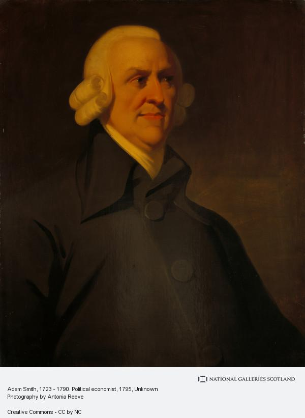 Unknown, Adam Smith, 1723 - 1790. Political economist