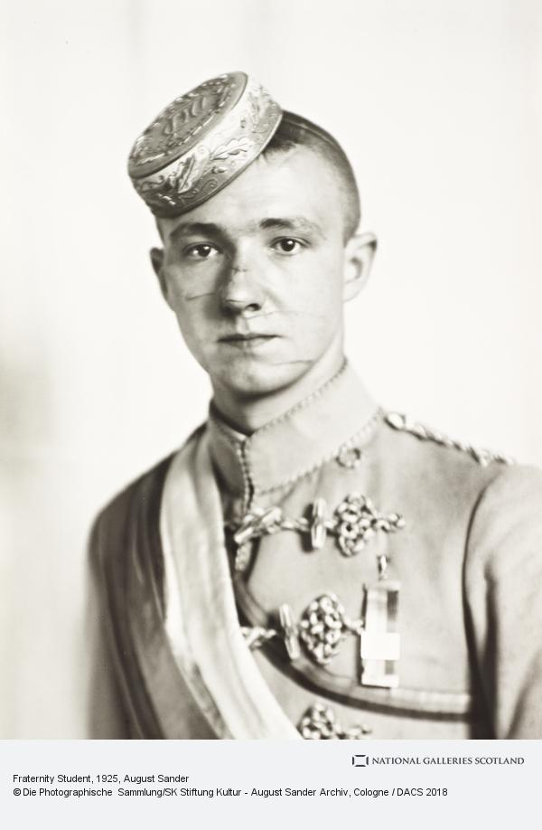 August Sander, Student Corps Member (Fraternity Student), 1925 (1925)