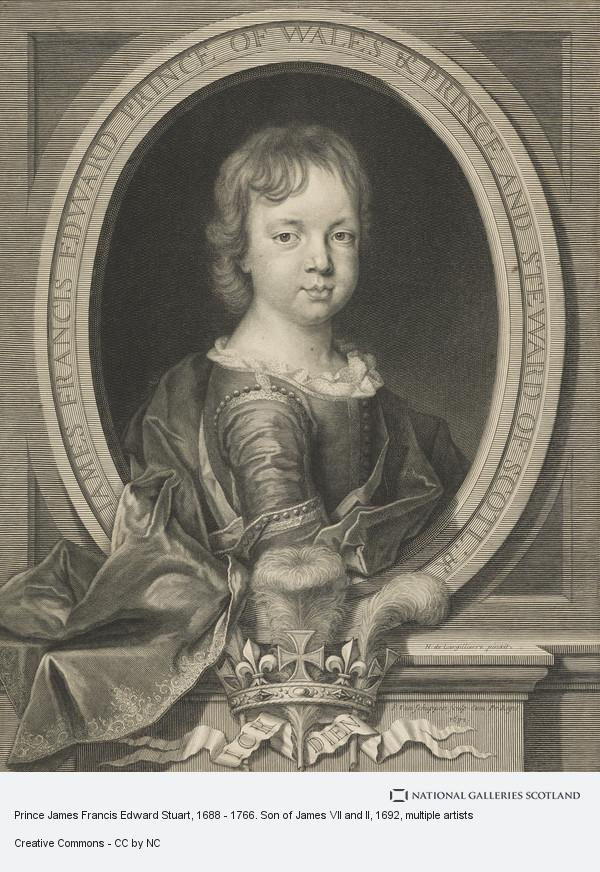 Pieter Louis van Schuppen, Prince James Francis Edward Stuart, 1688 - 1766. Son of James VII and II