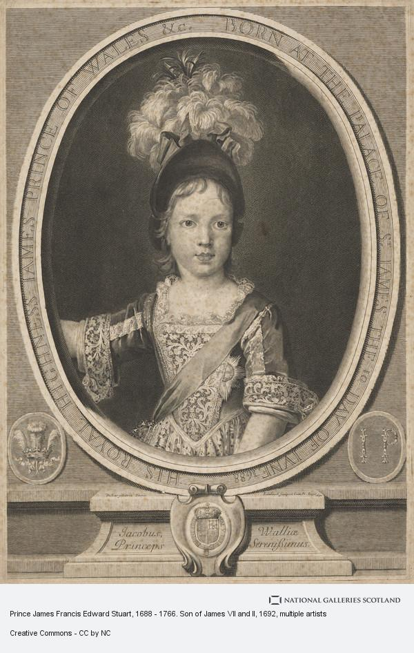 Nicolas de Largilliere, Prince James Francis Edward Stuart, 1688 - 1766. Son of James VII and II