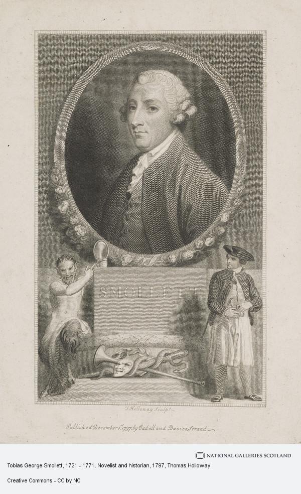 Thomas Holloway, Tobias George Smollett, 1721 - 1771. Novelist and historian