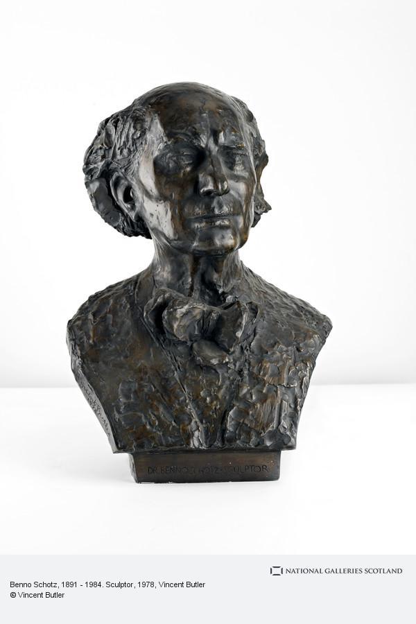 Vincent Butler, Benno Schotz, 1891 - 1984. Sculptor