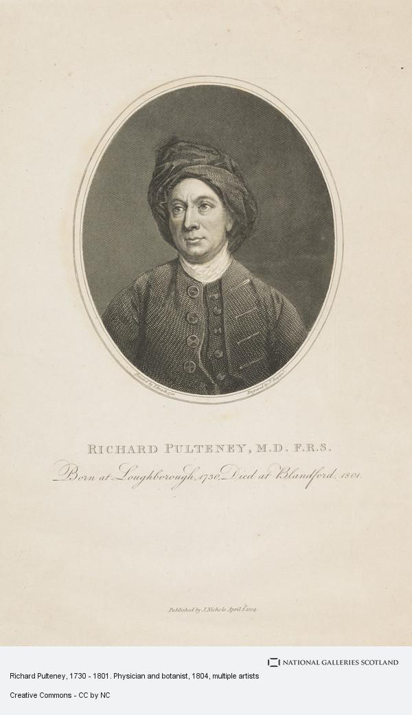 James Basire, Richard Pulteney, 1730 - 1801. Physician and botanist