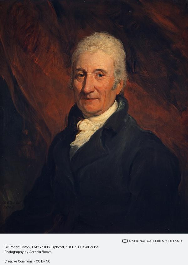 Sir David Wilkie, Sir Robert Liston, 1742 - 1836. Diplomat