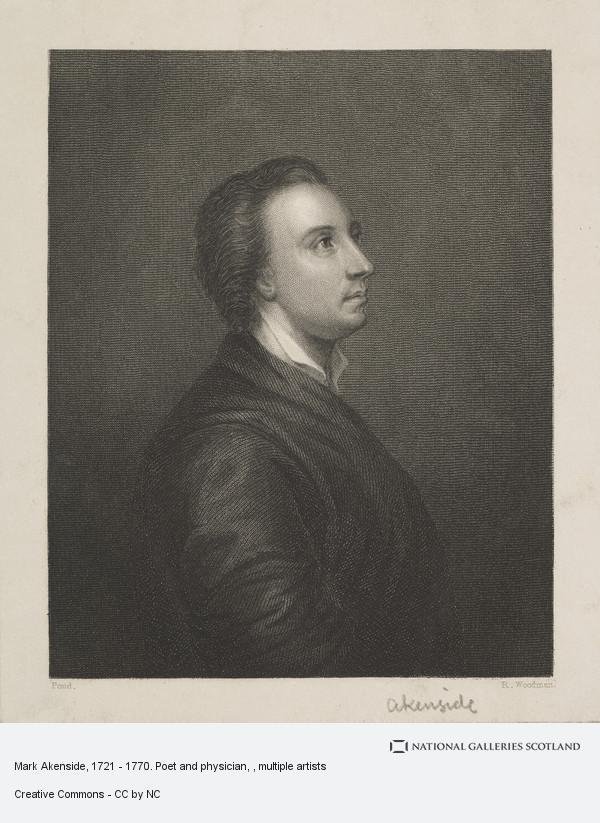 Mark Akenside engraving 1823