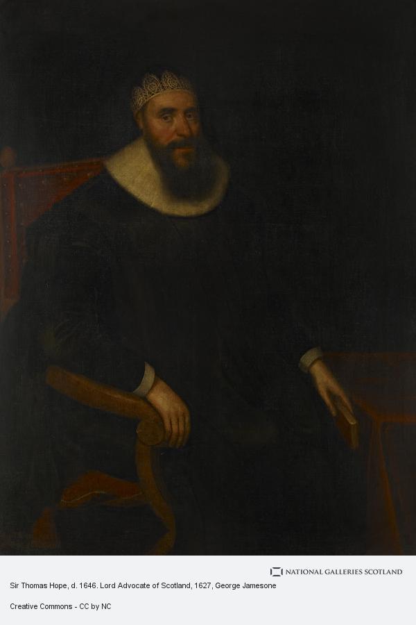 George Jamesone, Sir Thomas Hope, d. 1646. Lord Advocate of Scotland