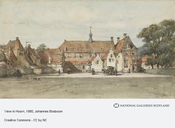 Johannes Bosboom, View in Hoorn