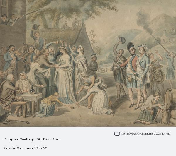 A Highland Wedding National Galleries Of Scotland