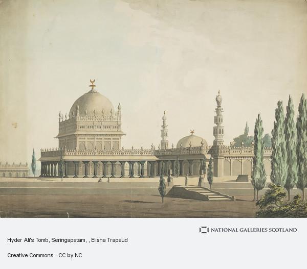 Elisha Trapaud, Hyder Ali's Tomb, Seringapatam