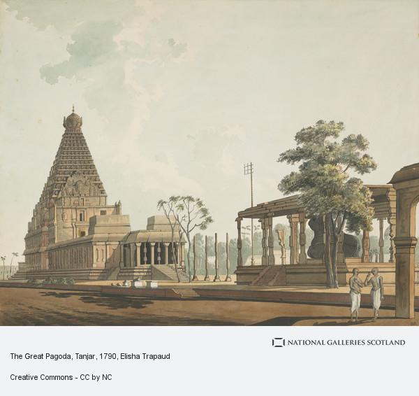 Elisha Trapaud, The Great Pagoda, Tanjar