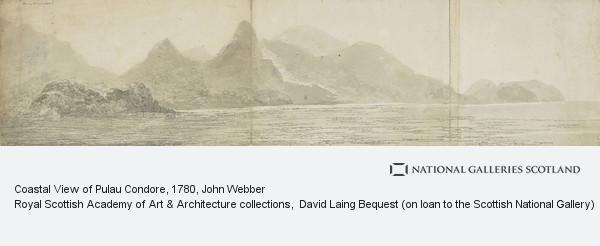 John Webber, Coastal View of Pulau Condore