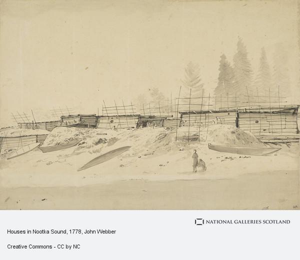 John Webber, Houses in Nootka Sound