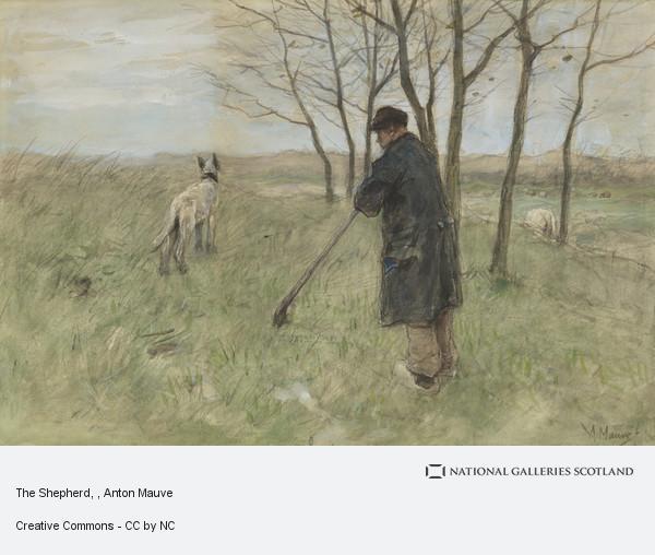 Anton Mauve, The Shepherd