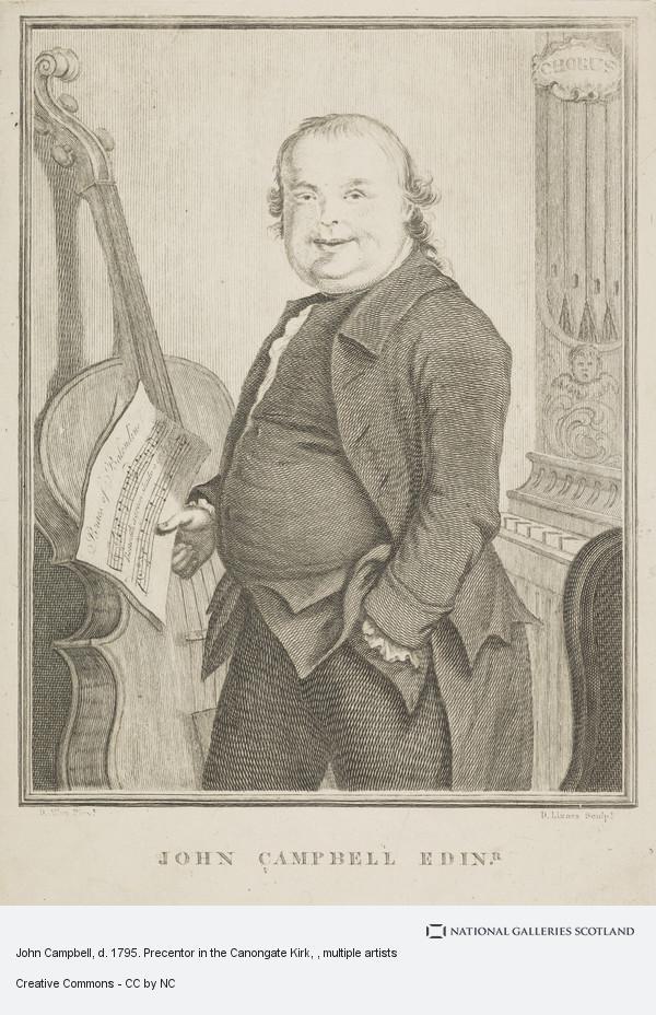 Daniel Lizars, John Campbell, d. 1795. Precentor in the Canongate Kirk