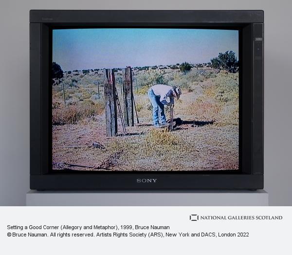 Bruce Nauman, Setting a Good Corner (Allegory and Metaphor) (1999)