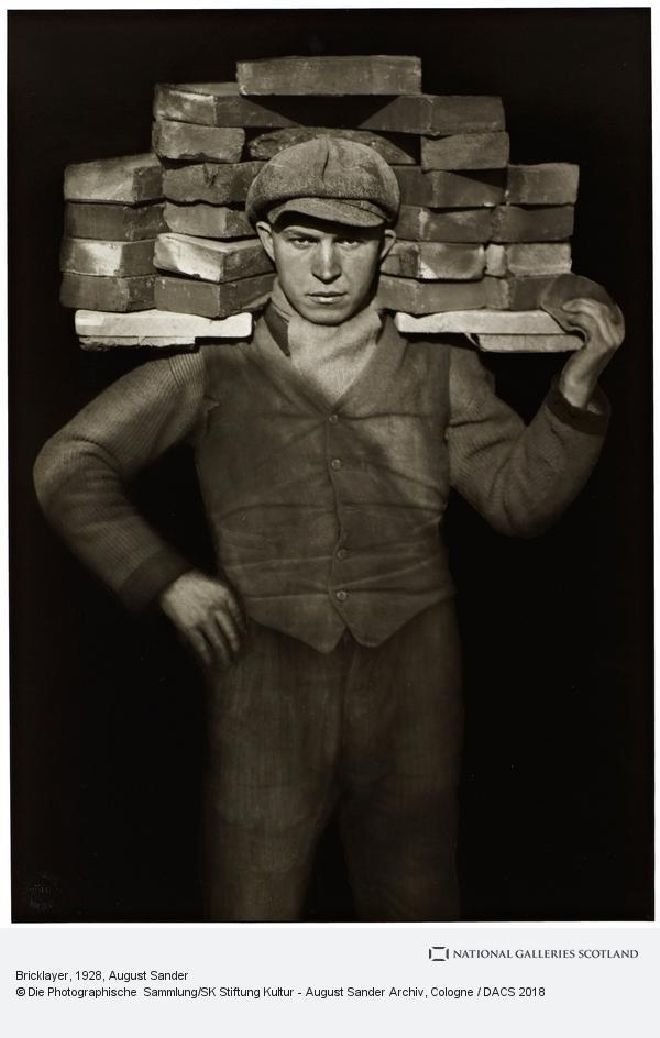 August Sander, Handlanger [Bricklayer], 1928 (1928)