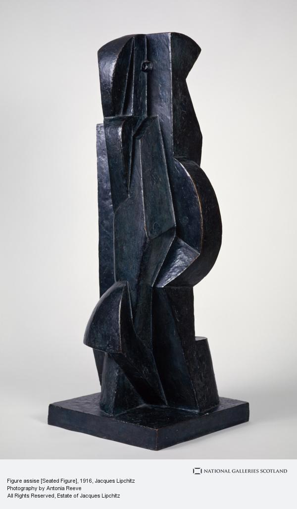 Jacques Lipchitz, Figure assise [Seated Figure]