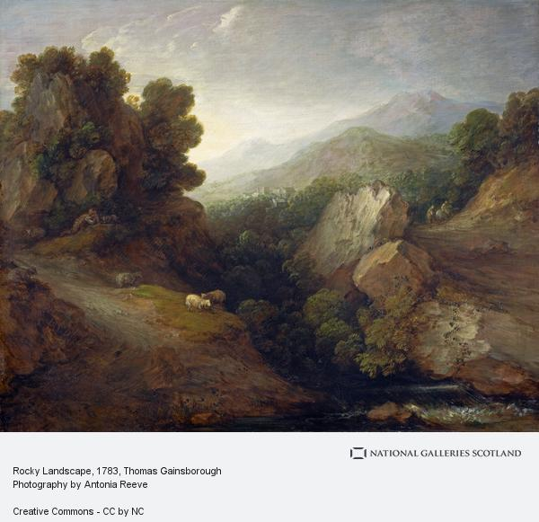Thomas Gainsborough, Rocky Landscape