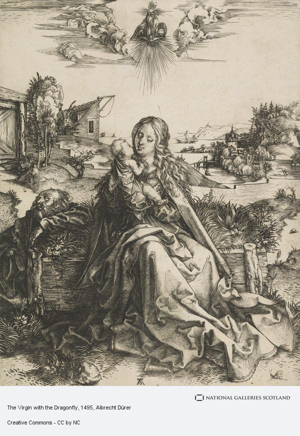 Albrecht Dürer, The Virgin with the Dragonfly