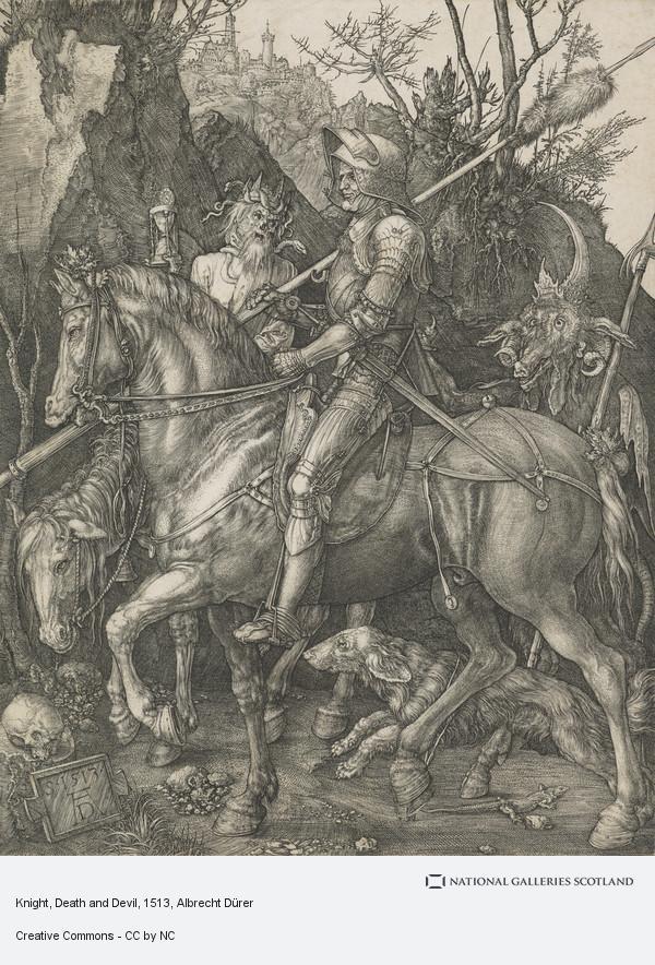 Albrecht Dürer, Knight, Death and Devil