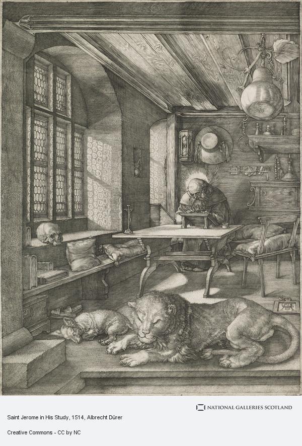 Albrecht Dürer, Saint Jerome in His Study